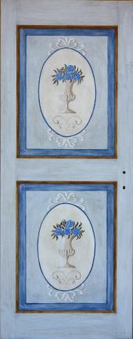 Porte anticate massello per interni porte decorate a mano - Porte decorate a mano ...