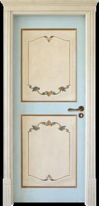 porta pregiata laccata bordeaux