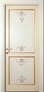 porta dipinta in oro cleopatra