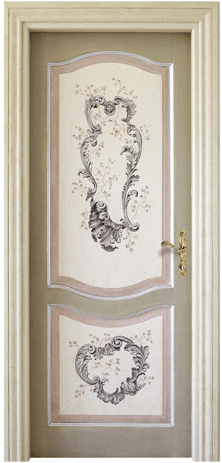 Porte dipinte a mano - Anselmi Porte | Porte decorate