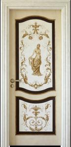 porte legno massello praga
