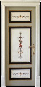 porte laccate decorate sanpietroburgo