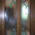 vetrata per porte t24
