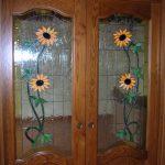 vetrata per porte t05