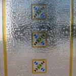 vetrata per porte f74